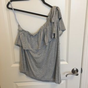 LOFT one shoulder top